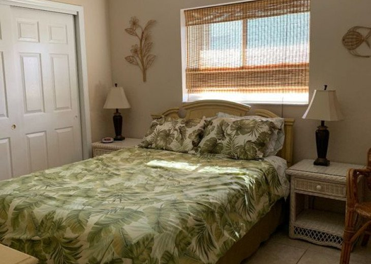 2nd Guest Bedroom with Flat Screen TV