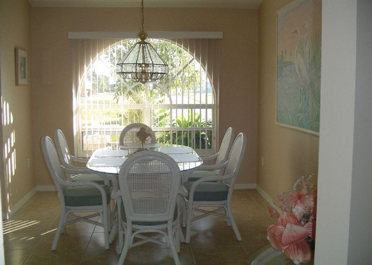 Dining Room area comfortably seats 6