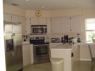 All Stainless Steel gourmet kitchen