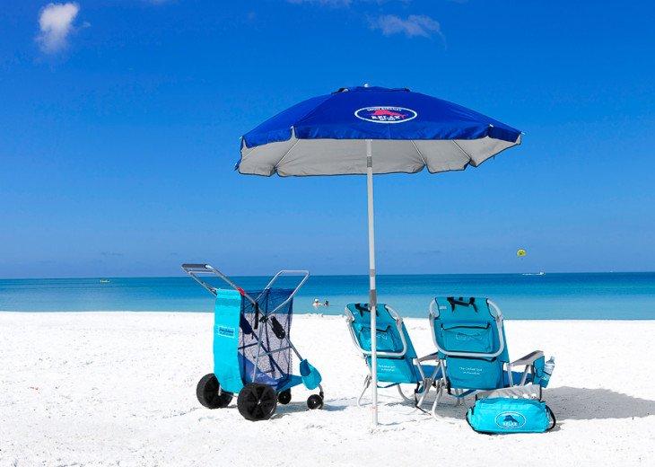 A Sampling of the Beach Gear We Provide!