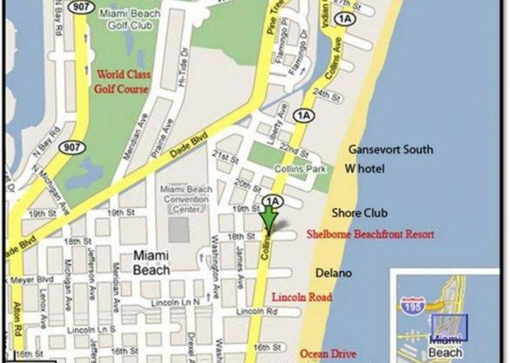3 Room Art Deco Oceanfront Suite at Shelborne South Beach #31