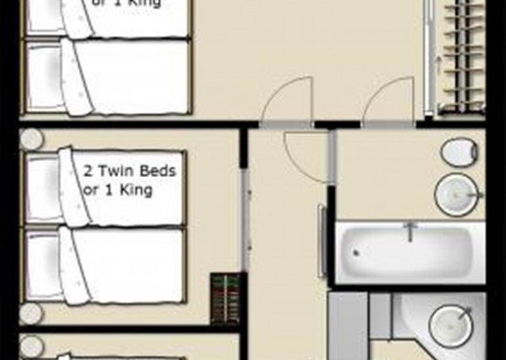 3 Room Art Deco Oceanfront Suite at Shelborne South Beach #27