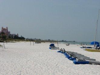 beach looking south toward Don Cesar