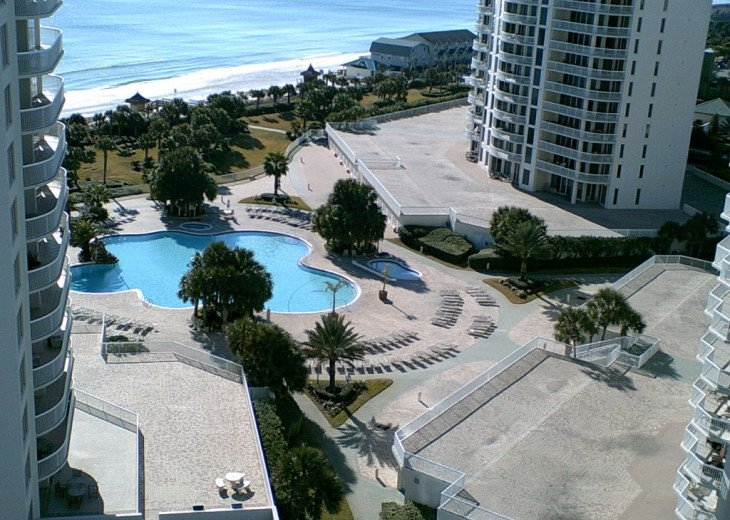 Silver Shells Resort Pool, Jaccuzzi and Children's Pool