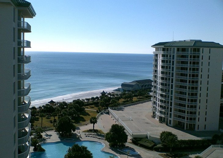 Balcony View of Resort