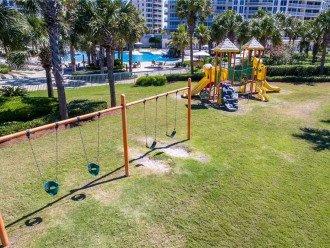 Children's Playground and Grassy Area
