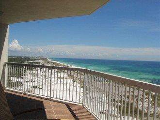 Balcony View of Henderson Beach