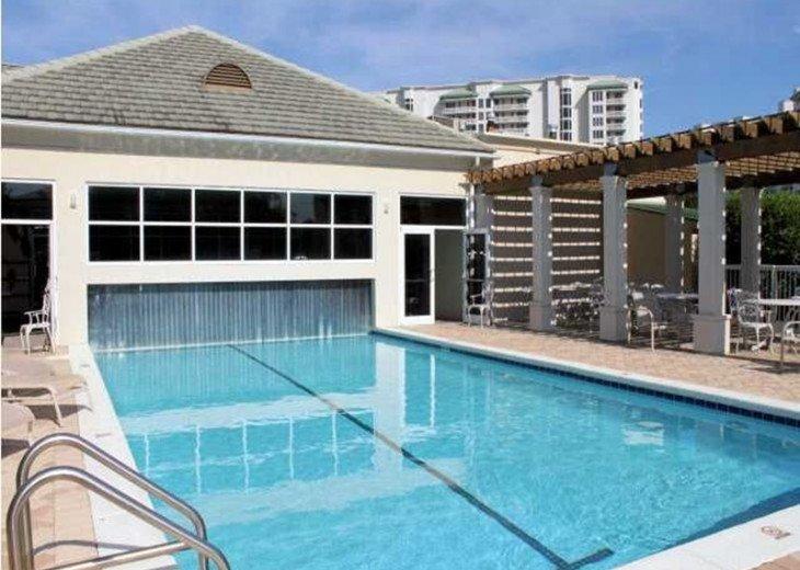 Silver Shells Indoor / Outdoor Pool