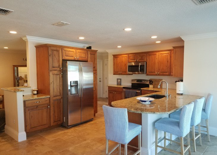 Nice kitchen, with everything you need