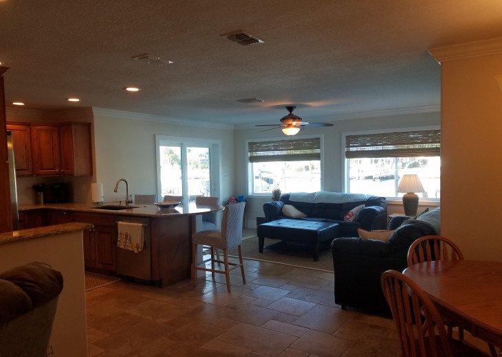 Sunroom and Kitchen
