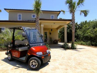 Luxury, 6 Passenger Golf Cart, Lg Private Pool, 4 Minutes Walk to Beach, Private #1