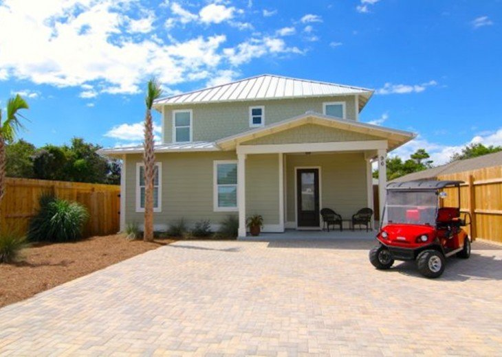 Luxury, 6 Passenger Golf Cart, Lg. Private Pool, 4 Minute Walk to Beach #2