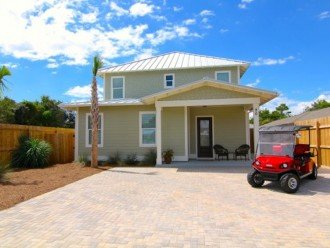 Luxury, 6 Passenger Golf Cart, Lg. Private Pool, 4 Minute Walk to Beach #1