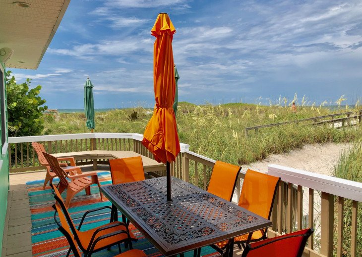 RARE - Classic Beach Front Vacation Home!! #4