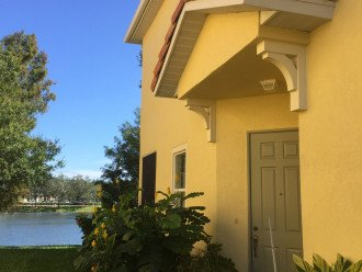 Villa on lake #1