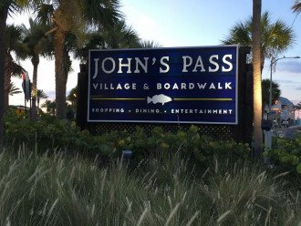 John's pass is 0.75 mile away