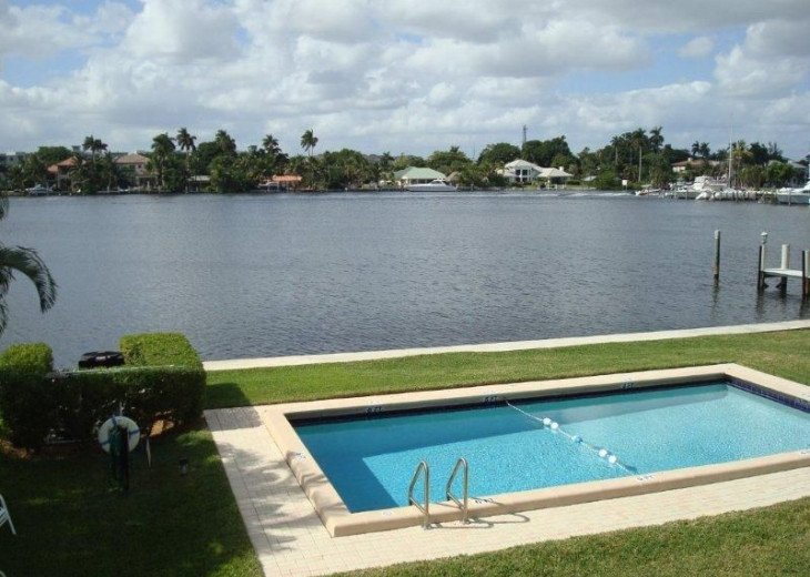 Direct Waterfront,Walk to Beach& Atlantic Ave-Gated, Pool, Priv Balcony #12