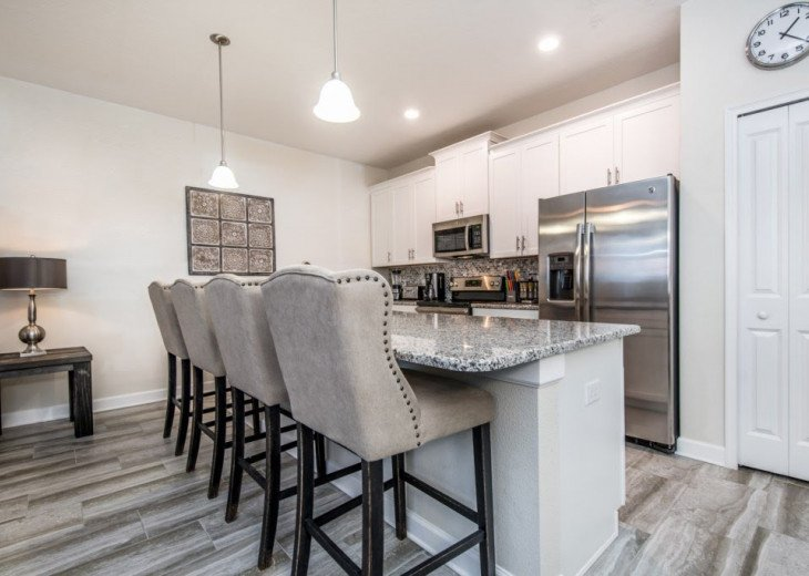 Affordable Luxury. 4 Bed 3 Bath Storey Lake Town Home. Very Private Pool. #6