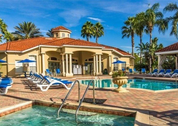 Affordable! Close to Disney! Emerald Island 3BD/3BA Balcony #31