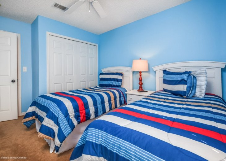 Affordable! Close to Disney! Emerald Island 3BD/3BA Balcony #20