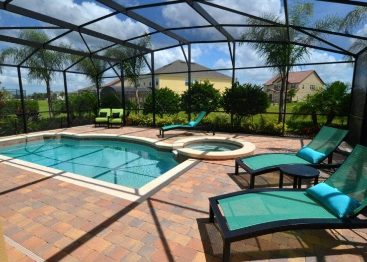 Stunning Former Model Home 7 Bd 6Ba Private South Pool/Spa Games Room #11