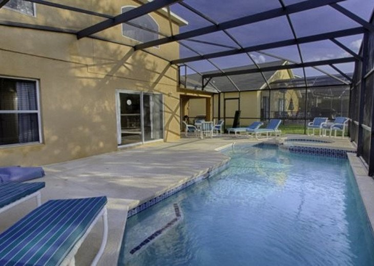 Gorgeous 5 Bedroom Resort Pool Home just 3 Miles from Disney #3