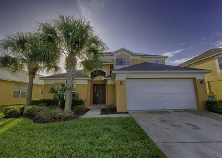Gorgeous 5 Bedroom Resort Pool Home just 3 Miles from Disney #2