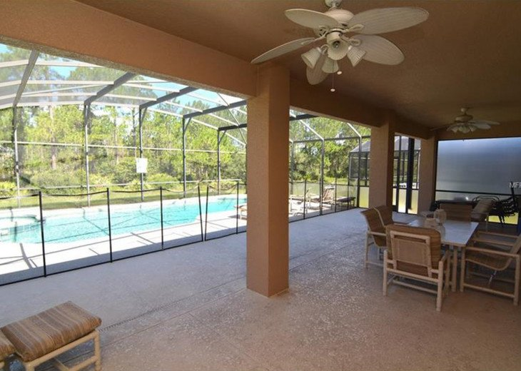 Luxurious 6 Bedroom Resort Pool Home just 15 Minutes from Disney #3