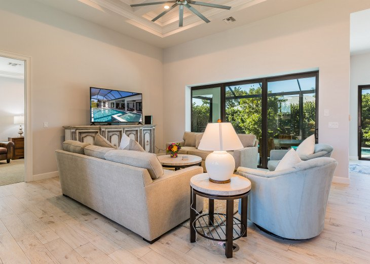 Beautiful 2017 constructed pool home with great western exposure! #2