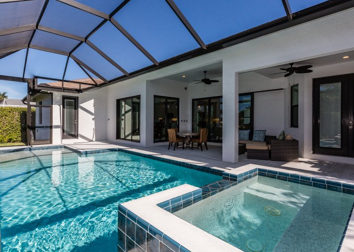 Beautiful 2017 constructed pool home with great western exposure! #16