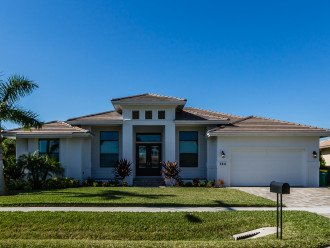 Beautiful 2017 constructed pool home with great western exposure! #1