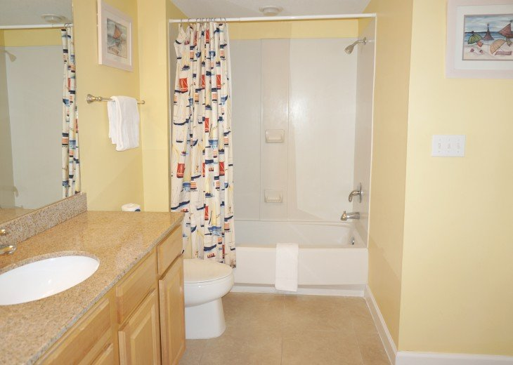 3rd bath - connects to full/full bedroom