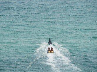 Rent jet skis, water sports