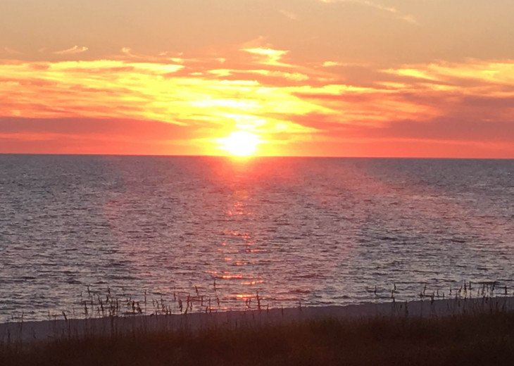 Fabulous Cape San Blas Sunset - Enjoy Right From Your Deck