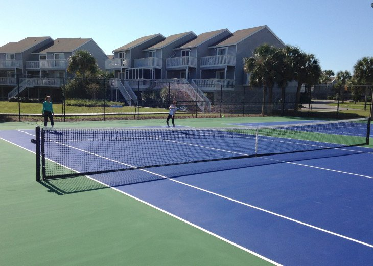 Tennis Courts (The only courts on the cape)