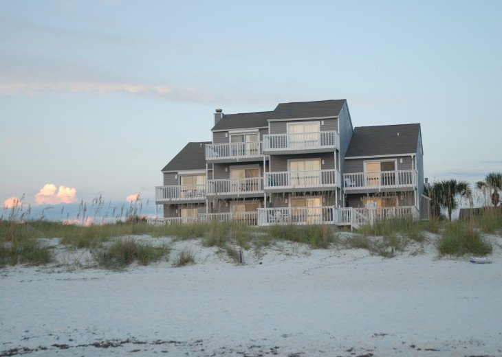 Direct Beach Front in Barrier Dunes