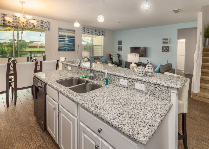 This home is the perfect getaway for your Orlando Disney vacation. Sleeps 14 #32