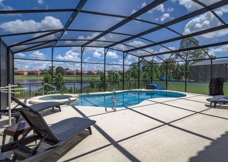 This home is the perfect getaway for your Orlando Disney vacation. Sleeps 14 #42