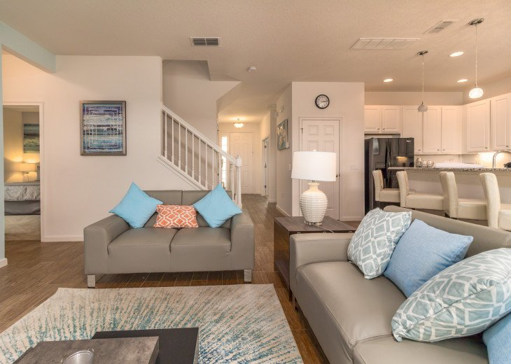 This home is the perfect getaway for your Orlando Disney vacation. Sleeps 14 #43