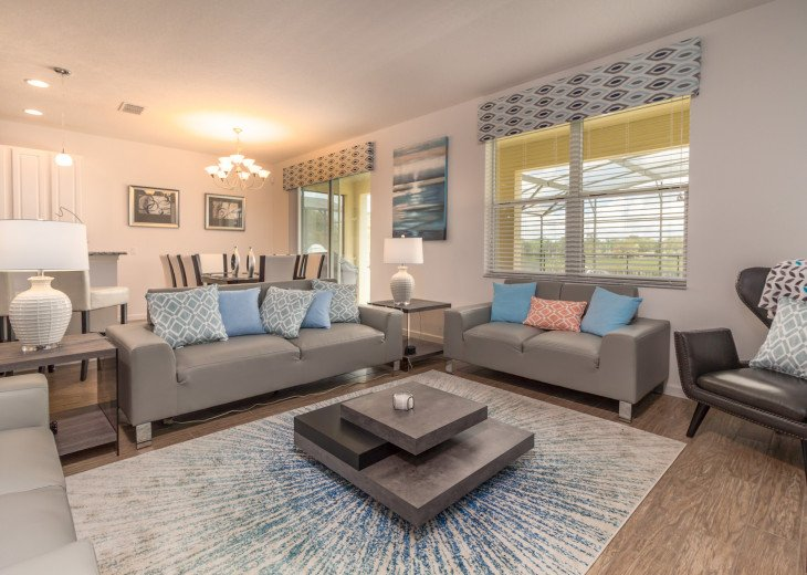 This home is the perfect getaway for your Orlando Disney vacation. Sleeps 14 #36