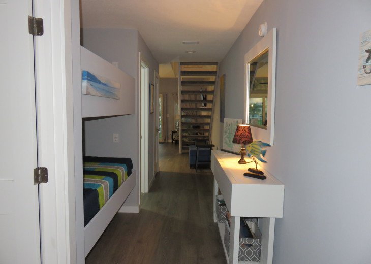 Entry with bunk beds