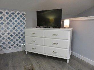 Upstairs 32 inch flat screen tv
