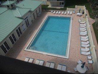 Heated pool, club house and gym