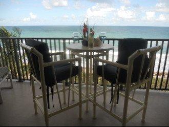 Oceanfront bliss on your hugh balcony