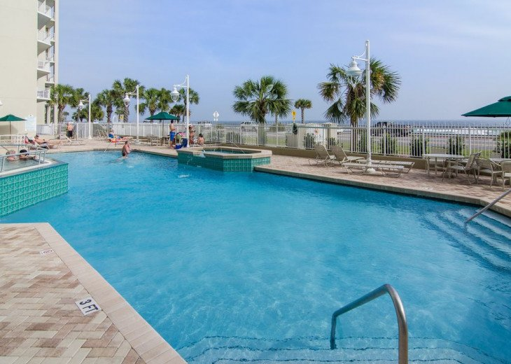 Newly Renovated 3BR/3BA condo on 2nd floor, sleep 10 with an amazing gulf view. #25
