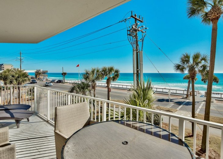 Newly Renovated 3BR/3BA condo on 2nd floor, sleep 10 with an amazing gulf view. #2