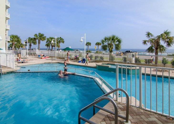 Newly Renovated 3BR/3BA condo on 2nd floor, sleep 10 with an amazing gulf view. #26