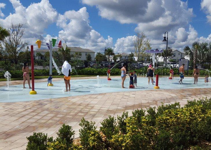 Kids Splash Pad area
