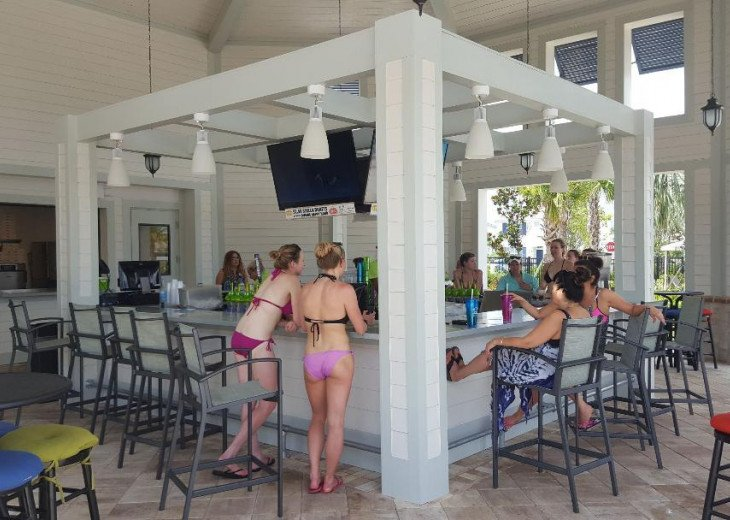 Clubhouse Pool Bar