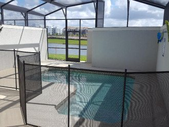 Private Heated Pool w/security fence